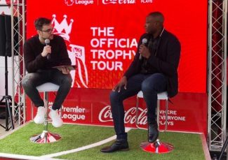 Andy Castell Partners with Coca-Cola & The Premier League