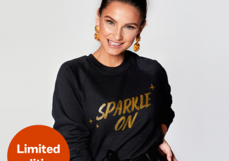 Samantha Faiers designs Christmas Jumper for NSPCC