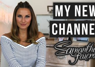 Samantha Faiers launches YouTube channel